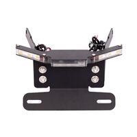 Tail Tidy License Plate Holder LED Turn Signals For HONDA CB900F HORNET 2001-07