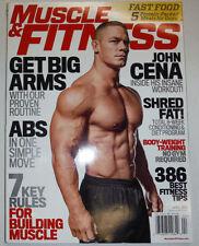Muscle & Fitness Magazine John Cena & Fast Food April 2014 NO ML 022315r3