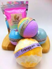 Unicorn Rainbow Bath Time Fun Set of 5 Bath bombs & Bubble Bath Fizzy Magical