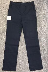 Debenhams Boys Slim Fit School Trousers X1. Blue, Age 11. Like Marks, BNWT
