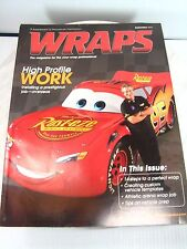 Vehicle WRAPS Magazine Lot of 5 SIGN & DIGITAL GRAPHICS Sign Reference 2007 2008