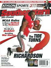 Trent Richardson Alabama Athlon Sports 2011 College Football SEC Magazine
