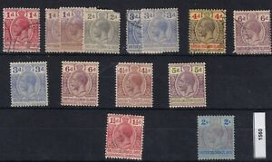 BRITISH SOLOMON ISLANDS 1914/22 seln to 2s mainly mint   1560