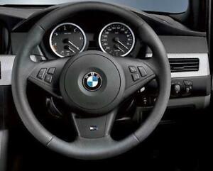 BMW 5 6 Series E60 E63 M5 M6 2005-2010 GENUINE M Steering Wheel Trim 32347841044
