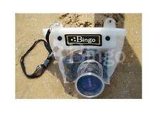 DSLR SLR camera waterproof underwater case housing bag for Canon 50D 40D 30D