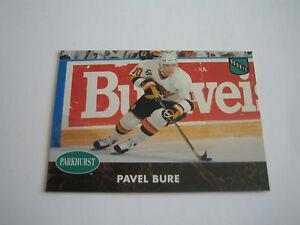 1991/92 Parkhurst Hockey Pavel Bure Card #404***Vancouver Canucks***