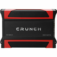 Crunch PZ-1520.4 1500 Watts 2 ohm Stable 4-Channel Class-A/B Car Audio Amplifier