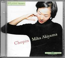CD ALBUM CLASSIQUE--MIKA AKIYAMA--CHOPIN--2006