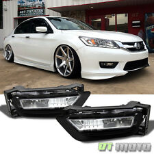 For 2013-2015 Honda Accord Sedan 4Dr Replacement Fog Lights+Switch Left+Right