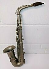 A French Alto Saxophone by Universal Savannah, Paris, Nickel Plated