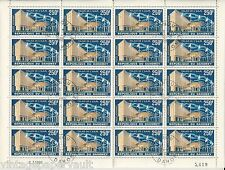 20 x DAHOMEY- 1963 AIRMAIL  Scott #C18 250fr  (SEPARATED SHEET of CTO's) USED