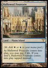 MTG HALLOWED FOUNTAIN FRENCH EXC - FONTANA SANTIFICATA FRANCESE - DIS - MAGIC