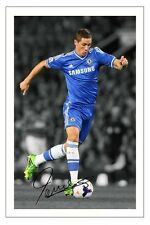FERNANDO TORRES CHELSEA SIGNED PHOTO AUTOGRAPH PRINT POSTER SOCCER