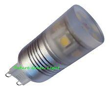 G9 11SMD LED 240V 2W 180LM Blanco Bombilla con Cristal Cubierta ~ 25W