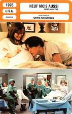 FICHE CINEMA : NEUF MOIS AUSSI - Grant,Moore,Cusack,Goldblum 1995 Nine Months