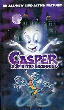 Casper: A Spirited Beginning 1997  CLAMSHELL (VHS)