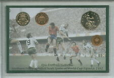Northern Ireland Football NIR GAWA Espania World Cup 82 Retro Coin Gift Set 1982