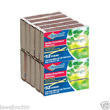 10 PACKS DIAMOND STRIKE ANYWHERE MATCHES  32 COUNT 320 Matches NEW