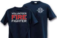 VOLUNTEER FIREFIGHTER  LARGE T-Shirt Fire Fighter Dept