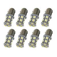 10pcs BAY15D P21/5W 1157 13 5050-SMD Cool White Turn Brake LED Light Lamp Bul FP