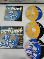 Aktiv-T Trance House Dance - 3 X CD Fat Box Tempo Musik MAX MIX Spanisch Edit