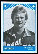 1983 Columbus Astros--Jeff Calhoun--La Grange GA, University of Mississippi AD66