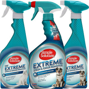 Extreme Stain and Odour Remover Spray Upholstery Carpet Cleaner Urine Puppy Cat