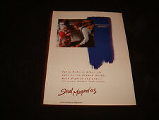 STEEL MAGNOLIAS 1989 Oscar ad Julia Roberts for Best Supporting Actress