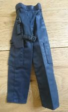 "Blue Police Tactical Trousers & Holster 12"" 1/6 Scale Action Man Dragon Figure"