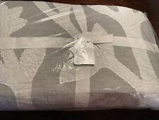 New ListingPottery Barn Ohana Handcrafted Cotton Quilt King ~ Light Gray~ Nip