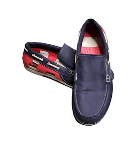 Men's - Crocs Beach Line Boat Shoes, Size 10