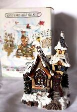 "Boyds Bearly Built Kringle's Village""St Nicholas' Chapel"" #99933V -Qvc Exclusive"