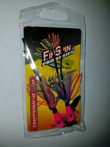 NEW   Fin Spin Pro Series-Les Pink 1/4oz 2pk
