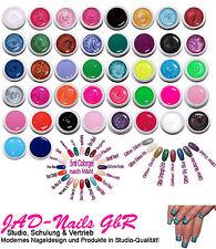 10 x Colorgel Farbgel 5ml Effektgel Glittergel SET UV Gel