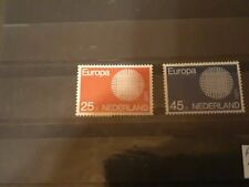 timbre pays-bas europa ** neuf n914/5 1970