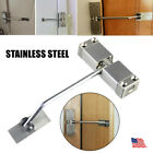 Adjustable Stainless Steel Door Closer Surface Mounted Auto Self Closing Spring