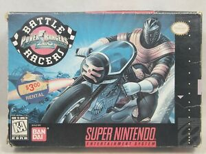 Power Rangers Zeo Battle Racers (Super Nintendo | SNES) Authentic BOX ONLY