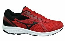 Mizuno Spark 5 Red Black Low Lace Up Mens Running Trainers K1GA200362