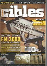 """CIBLES N°375 HERSTAL FN 2000 / WILSON 1911 """"PROTECTOR"""" / ARMALITE AR-10 / 9MM"""