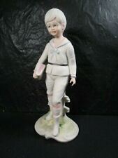Galos - Boy Walking To School - Figurine, Excellent Condition Retired