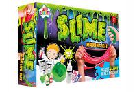 Kids Create Slime Making Kit Mixing Machine Messy Play Goo Slimy Gooey 8+