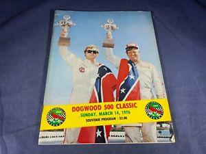 C5-56 MARTINSVILLE SPEEDWAY DOGWOOD 500 NASCAR PROGRAM - MARCH 14, 1976