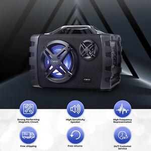 Nem Audio System Boombox Bluetooh Speaker Strong Bass USB High Quality Black