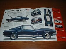 ★★1967 MUSTANG SHELBY GT500 ORIGINAL IMP BROCHURE SPECS INFO GT 500 67 428 FORD★