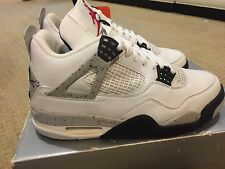 Nike Air Jordan Retro 4 IV 1999 Sz 8 NEW White Cement Nike Air 100% AUTHENTIC