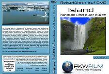 Island DVD, sehr ausführlich rundum querdurch, viele Highlights, ein Reiseführer
