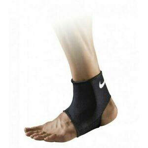 Nike Pro Open Ankle Sleeve 2.0 Unisex Support Foot Brace Guard Protector - Black