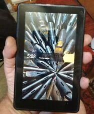 "Amazon Kindle Fire 1st Gen D01400 8GB, 7"" Black Tablet Ebook Reader"