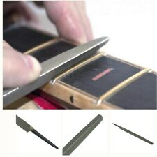 """3Corner Fret End Dressing Smooth File Small 4"""" Guitar Polished File Luthier Tool"""