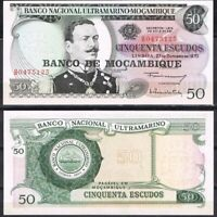 MOZAMBIQUE 50 Escudos, 1970, P-116, UNC World Currency - Paper Money